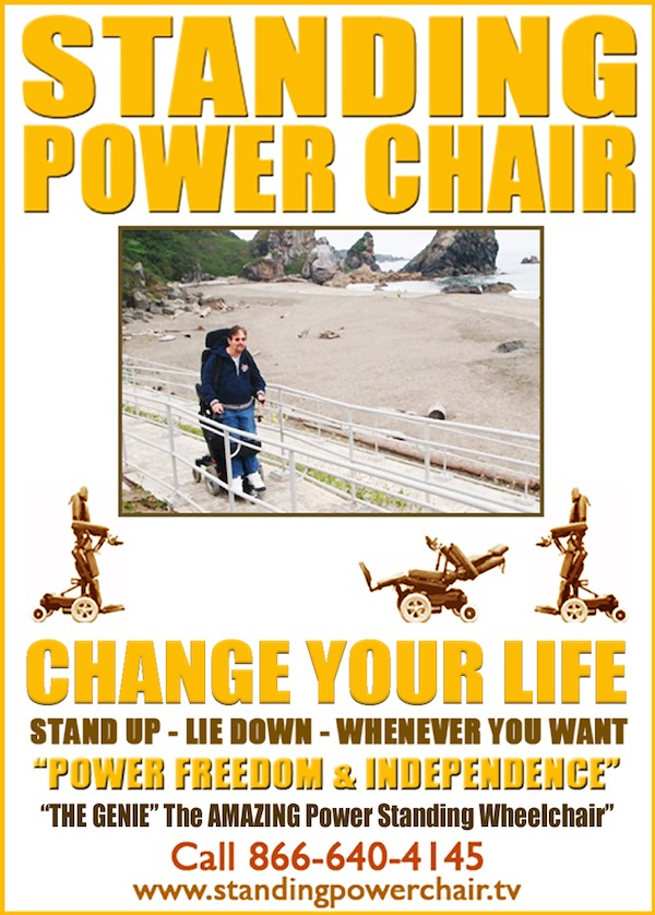 Standing Power Chair Magazine Ad